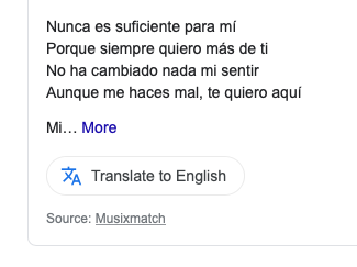 nunca-es-suficiente-los-ángeles-azules-lyrics-Translate-to-English